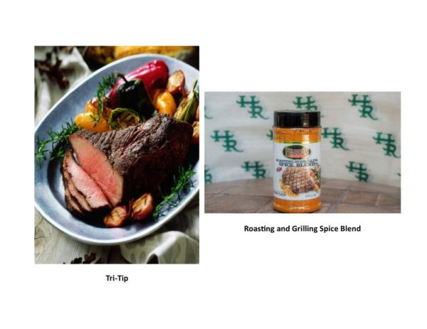 CA Favorite: Tri-Tip, Harris Ranch Roasting and Grilling Spice Blend