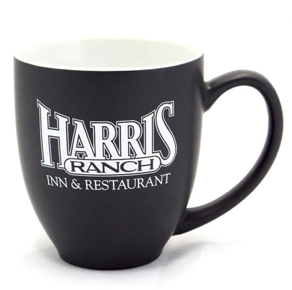 Harris Ranch mug - black matte