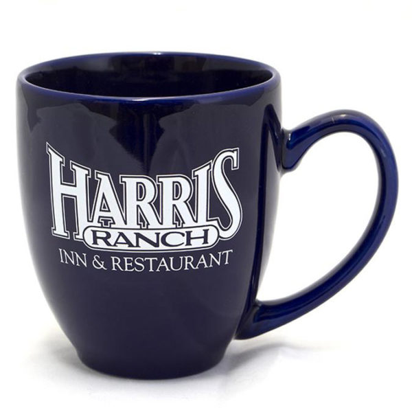 Harris Ranch mug - blue