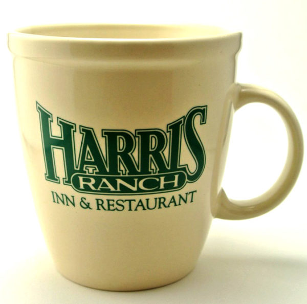 Harris Ranch mug - original (ivory/hunter-green)