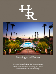 Cover Image of Harris Ranch Meetings and Events booklet