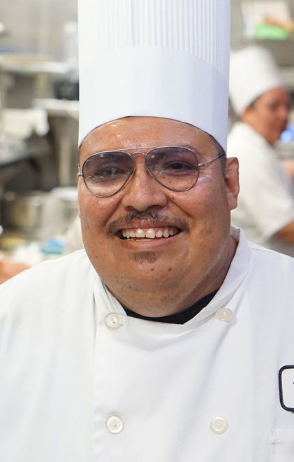 Chef Rigoberto at Harris Ranch