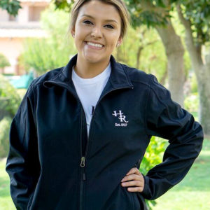 Model wearing Harris Ranch Women's Jacket