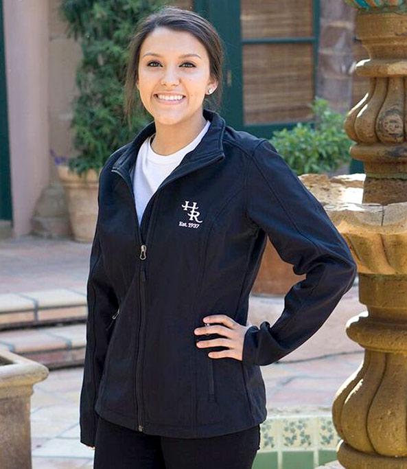 Model wearing Harris Ranch Women's Jacket