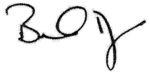 Brads signature