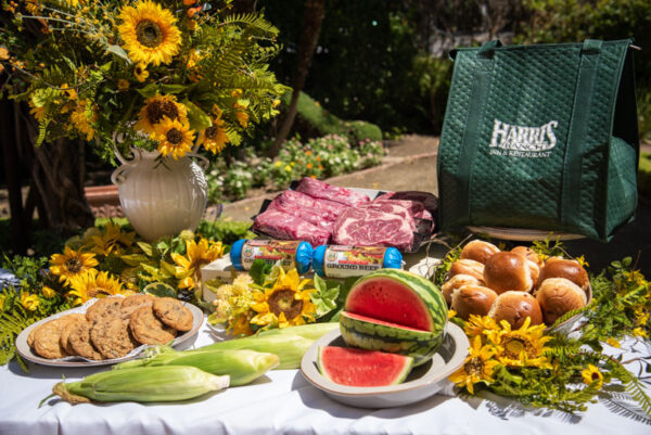 MVP Package, includes premium beef, rolls, corn, fruit and cookies