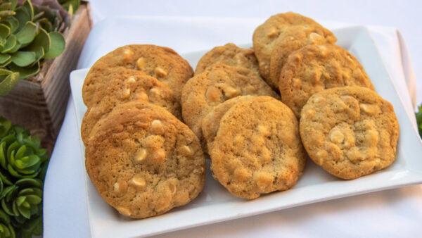 Dozen White Chocolate Chip Macadamia Cookies