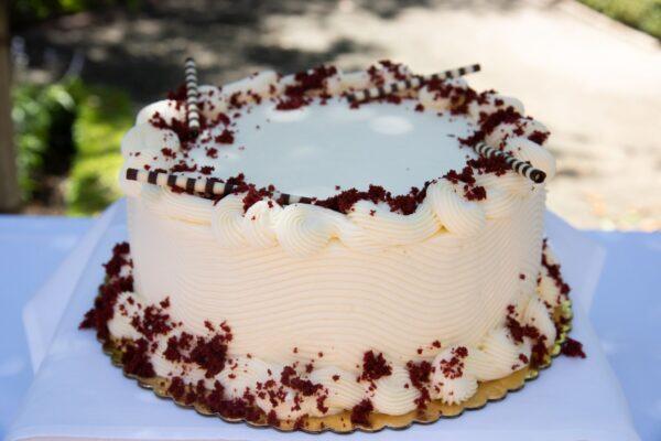 10 inch Red Velvet Cake