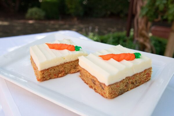Carrot Cake Square