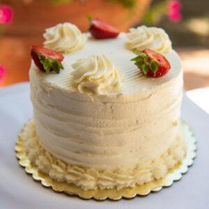 Mini White Cake