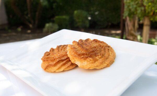regular coconut macaroon cookie